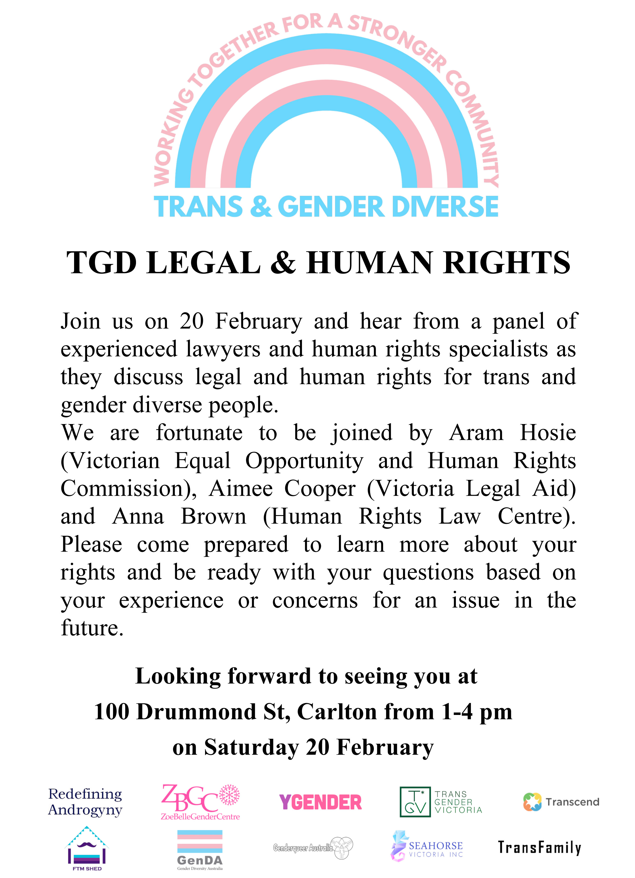 Microsoft Word - TGD legal and human rights panel.doc